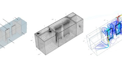 CFD (Computational Fluid Dynamics) based 3D design for energy saving